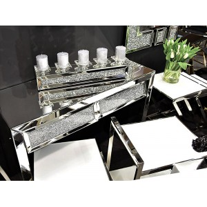 CRYSTAL design tükrös konzolasztal Asztal