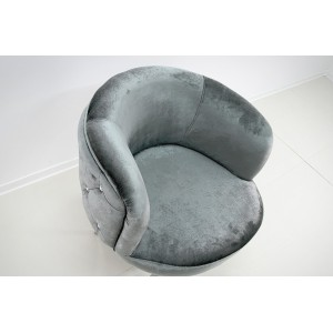 DONNA design fotel - ezüst Ülőbútor