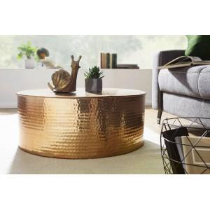 CAN orientális design alumínium dohányzóasztal - arany Dohányzóasztalok