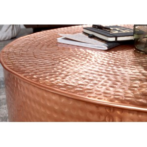 CAN orientális design alumínium dohányzóasztal - réz Dohányzóasztalok