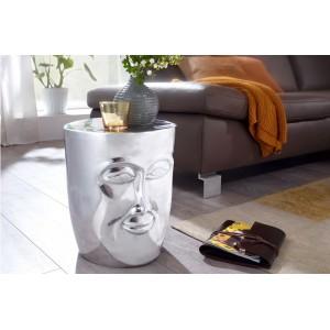 FACE design lerakóasztal - ezüst Asztal