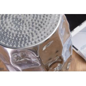 JADE design lerakóasztal - ezüst Asztal