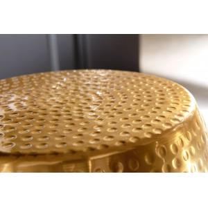 DELHI design lerakóasztal - arany Asztal