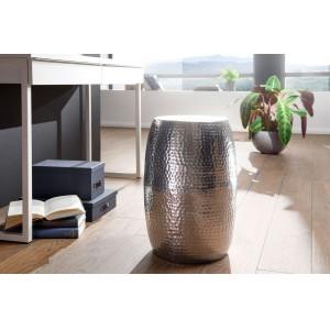 DELHI design lerakóasztal - ezüst Asztal