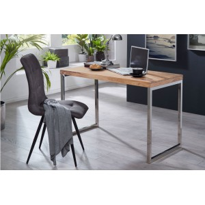 SHINE tömör akác íróasztal - 120cm Íróasztalok