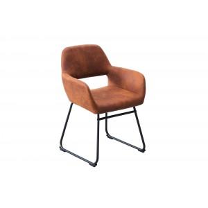 DALLAS modern szék - antik barna Karfával
