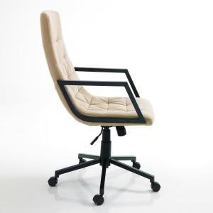 MATTEO modern forgószék - beige Irodai székek