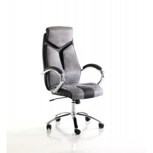 NICOLO design forgószék - szürke/fekete Irodai székek