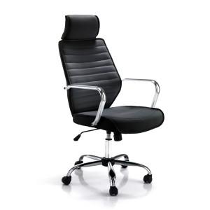 LEADER design forgószék - fekete Irodai székek