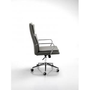 UFFIZO modern forgószék - szürke Irodai székek