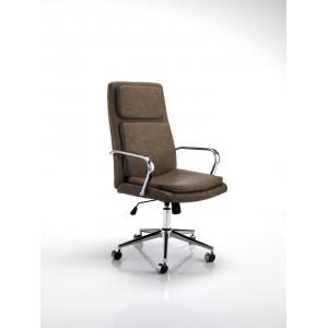 UFFIZO modern forgószék - barna Irodai székek