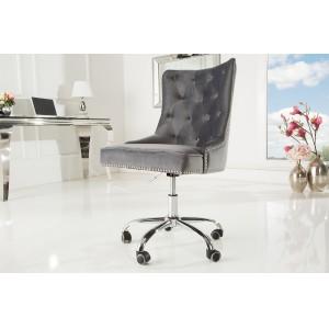 PRINCE exkluzív forgószék - szürke Irodai székek