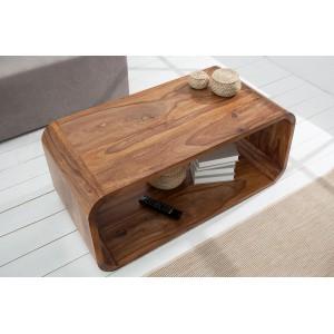 GOA tömör rózsafa dohányzóasztal -100cm Dohányzóasztalok