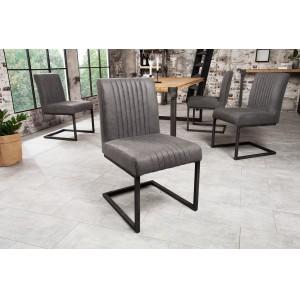 ASTON - II modern szék - szürke Karfa nélkül