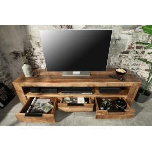 CRAFTER tömör mangófa TV- szekrény - 170cm TV szekrények