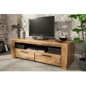 CRAFTER tömör mangófa TV- szekrény - 130cm TV szekrények