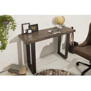 CRAFTER tömör mangófa konzolasztal - 115cm - szürke Asztal