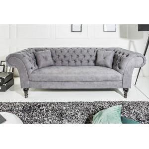 PRINCESS design kanapé -szürke Ülőbútor