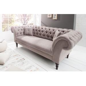 PRINCESS design kanapé - beige Ülőbútor