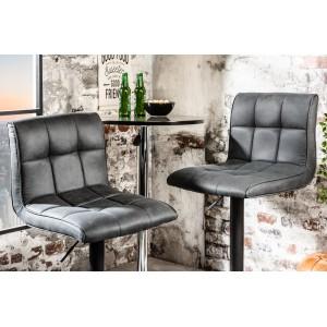 MODENA modern bárszék- vintage szürke Ülőbútor