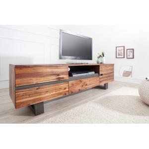 GENESIS tömör akácfa TV állvány - 160cm TV szekrények