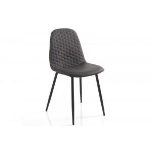 GEOMETRICHE mintás design szék - szürke Ülőbútor