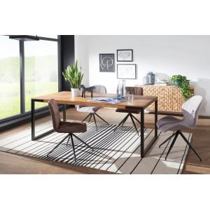 GRANT tömör rózsafa étkezőasztal -190/210cm Étkezőasztalok