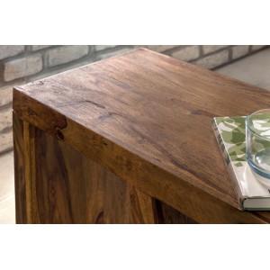 E tömör rózsafa lerakóasztal Asztal