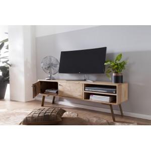 SIKAR tömör mangófa TV-szekrény TV szekrények