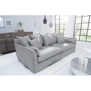 HEAVEN modern 3 személyes kanapé - szürke - 215cm Ülőbútor