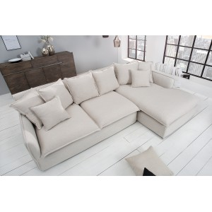 HEAVEN modern  sarokkanapé - beige - 255cm Ülőbútor