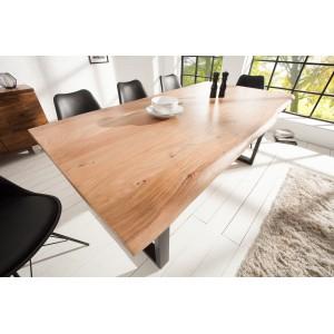 MAMMUT II - tömör akácfa étkezőasztal 200cm Étkezőasztalok