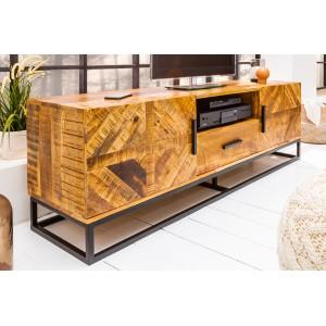 OMNIA tömör mangófa TV-szekrény TV szekrények