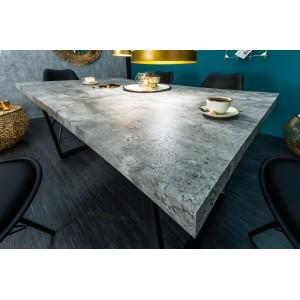 ELISSA design étkezőasztal - beton - 160 cm