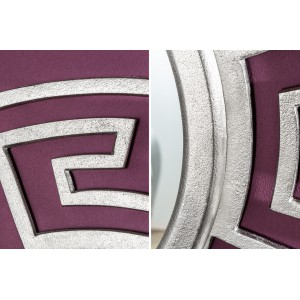 MENDERES modern tükör - ezüst - 85cm