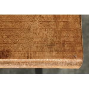 CRAFTER tömör mangófa bárasztal - natúr