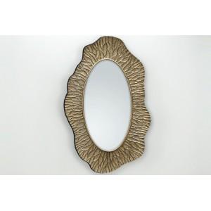 BRENDA ANOMAL modern tükör - arany Tükrök