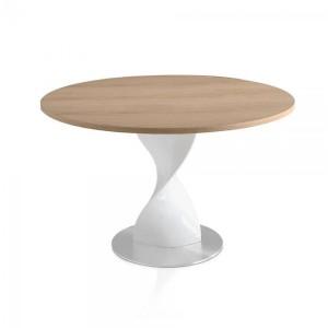 CAPRI - II design kerek étkezőasztal - 110/120/130cm Étkezőasztalok AC