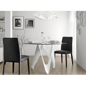 BUTTERFLY design kerek étkezőasztal - 110/120/130/140cm Étkezőasztalok AC