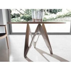 BUTTERFLY - II design kerek étkezőasztal - 110/120/130/140cm Étkezőasztalok AC