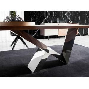 FLASH design étkezőasztal - 160/180/200cm - dió Étkezőasztalok AC