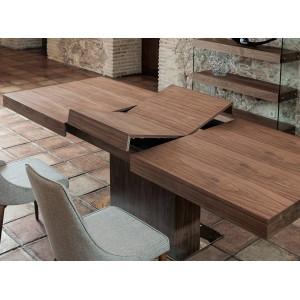 BROOKLYN design bővíthető étkezőasztal - 180-240cm - dió Étkezőasztalok AC
