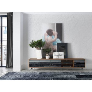 CONTINENTAL design TV-szekrény - 240cm Angel Cerdá AC