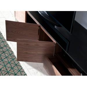 FERRANO design TV-szekrény - 200cm - dió Angel Cerdá AC