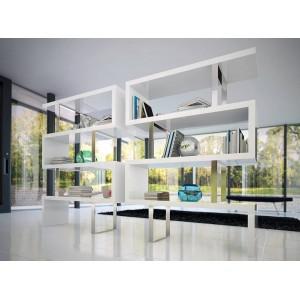 MADRAS design polc - 170cm - fehér Angel Cerdá AC