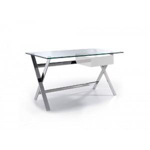 GLOSSY design íróasztal - 145cm - fehér Angel Cerdá AC
