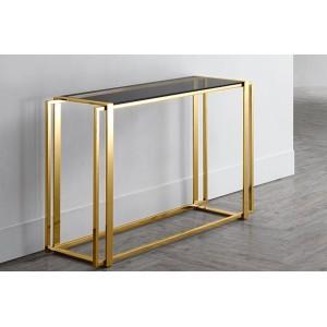 GUILTY design konzolasztal - arany Asztal