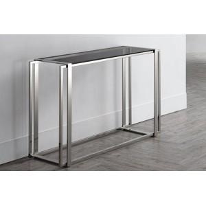GUILTY design konzolasztal - ezüst Asztal