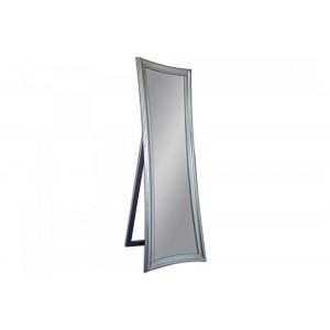 SKINNY design álló tükör - ezüst/arany/fehér Tükrök