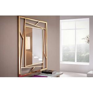 METRIC - II modern tükör - arany - 120/180cm Tükrök